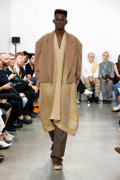 FRA: Hed Mayner : Runway - Paris Fashion Week - Menswear Spring/Summer 2020