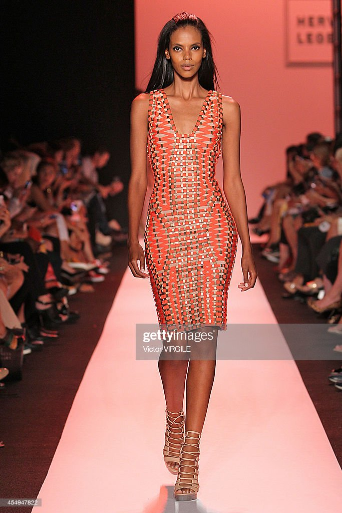 Herve Leger By Max Azria - Runway - Mercedes-Benz Fashion Week Spring 2015 : News Photo