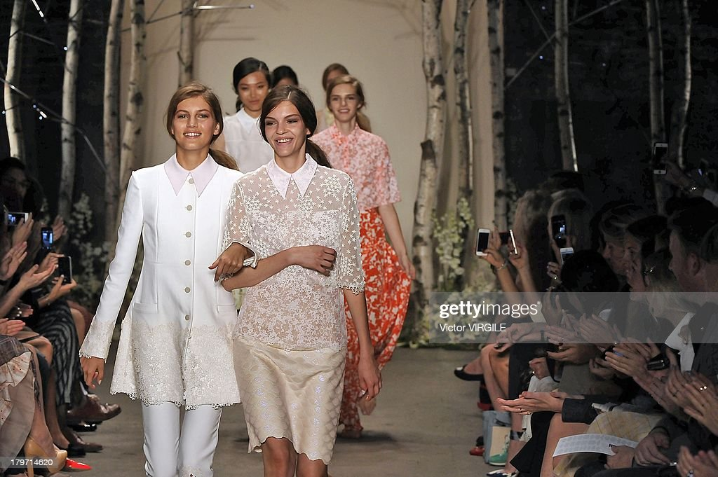 Honor - Runway - Mercedes-Benz Fashion Week Spring Summer 2014