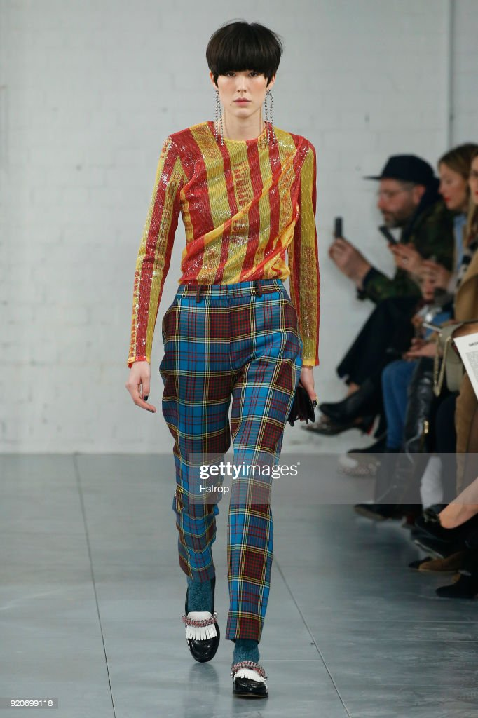 House of Holland - Runway - LFW February 2018 : News Photo