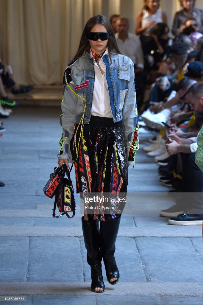 model-walks-the-runway-at-the-iceberg-show-during-milan-fashion-week-picture-id1037256774