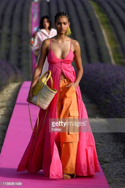 Model walks the runway at the Jacquemus Menswear Spring/Summer 2020 show on June 24, 2019 in Valensole, France. (Photo by Estrop/Getty Images