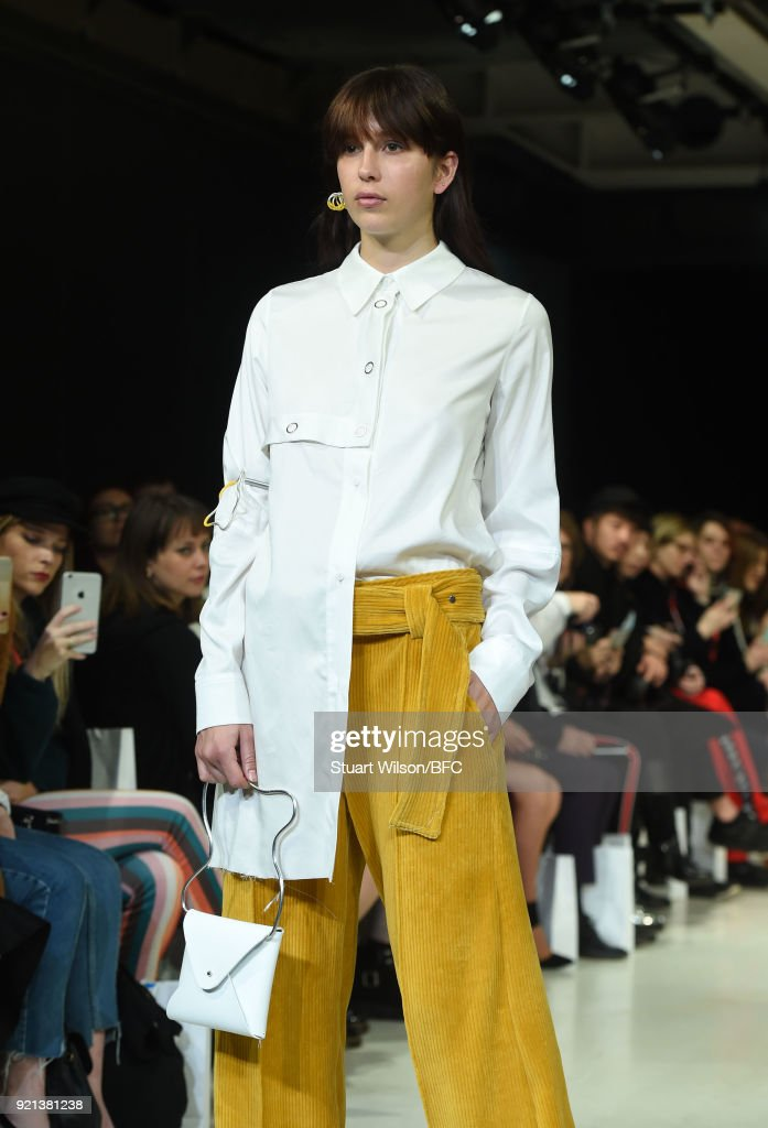 Jamie Wei Huang Presentation - LFW February 2018 : News Photo