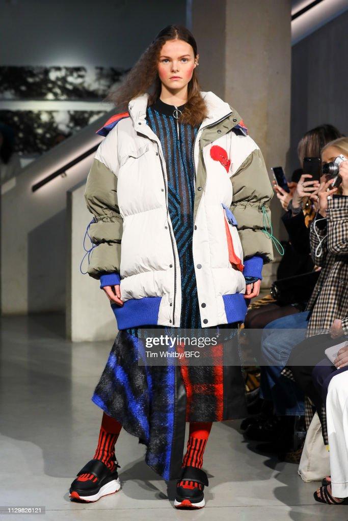GBR: Jamie Wei Huang - Runway - LFW February 2019
