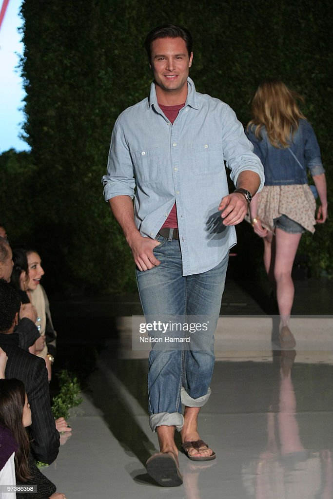 0250992643b38 A model walks the runway at the JCPenney Discover Spring Style event ...