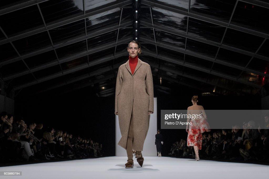 Jil Sander - Runway - Milan Fashion Week Fall/Winter 2018/19 : Photo d'actualité