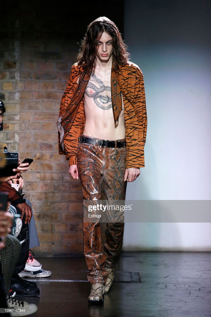 John Lawrence Sullivan - Runway - LFWM January 2019 : ニュース写真