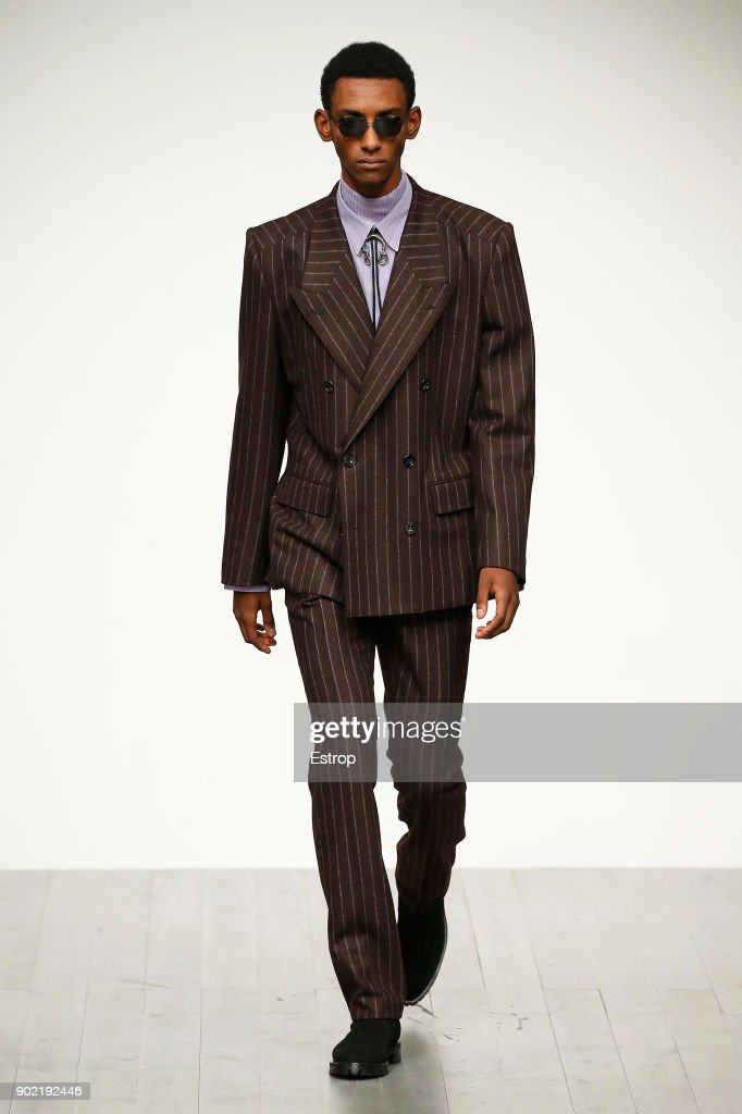 John Lawrence Sullivan - Runway - LFWM January 2018 : ニュース写真