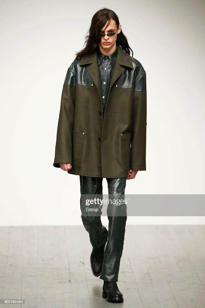 John Lawrence Sullivan - Runway - LFWM January 2018 : News Photo