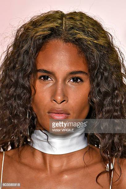 A model walks the runway at the Jonathan Simkhai Ready to Wear Spring Summer 2017 fashion show during New York Fashion Week on September 10 2016 in...
