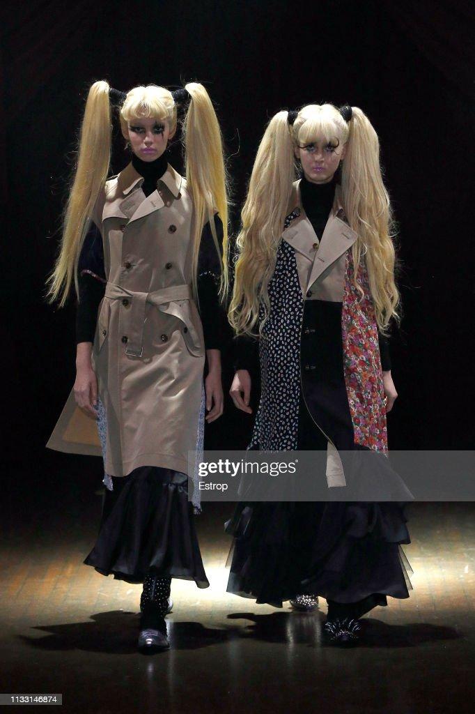 Junya Watanabe : Runway - Paris Fashion Week Womenswear Fall/Winter 2019/2020 : Fotografia de notícias