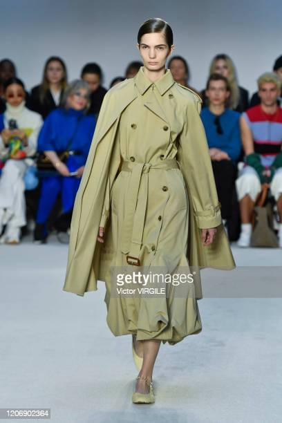 A model walks the runway at the JW Anderson Ready to Wear Fall/Winter 20202021 fashion show during London Fashion Week on February 17 2020 in London...
