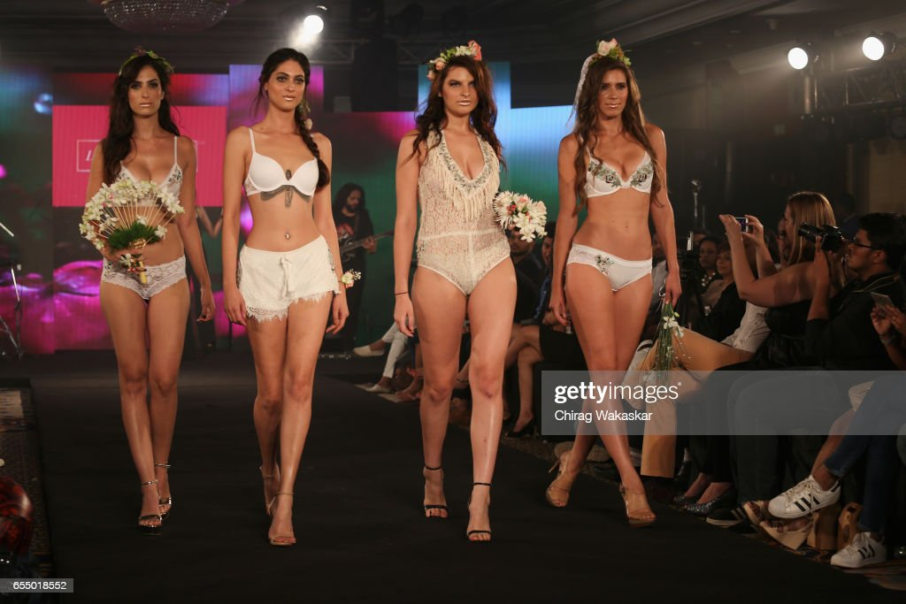 India Intimate Fashion Week 2017 : News Photo