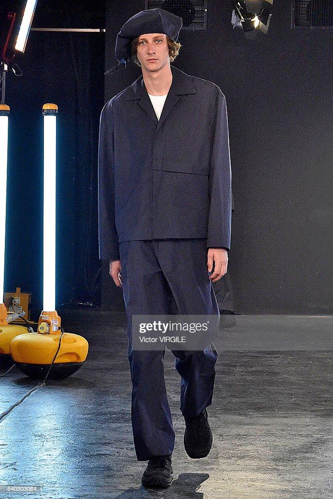 Kiko Kostadinov - Presentation - London Collections Men SS17 : News Photo