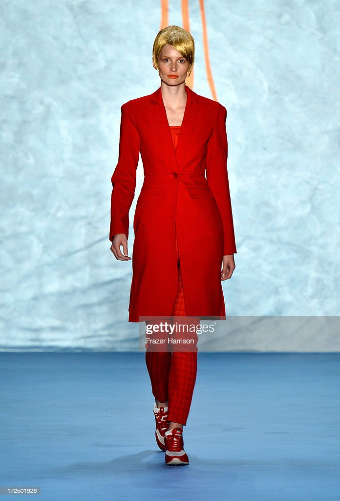 Kilian Kerner Show - Mercedes-Benz Fashion Week Spring/Summer 2014 : News Photo