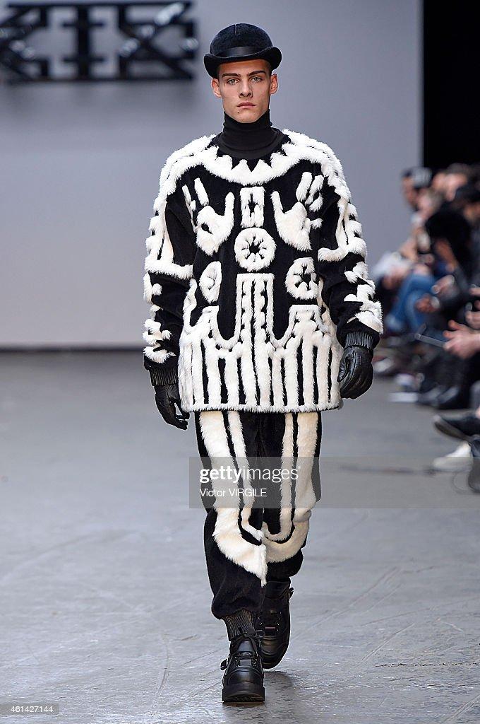 KTZ - Mens Fall 2015 Runway - London Menswear Fashion Week : News Photo
