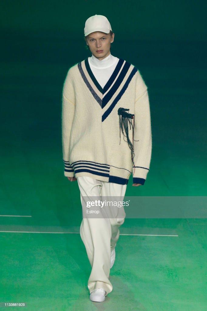 Lacoste : Runway - Paris Fashion Week Womenswear Fall/Winter 2019/2020 : Foto di attualità