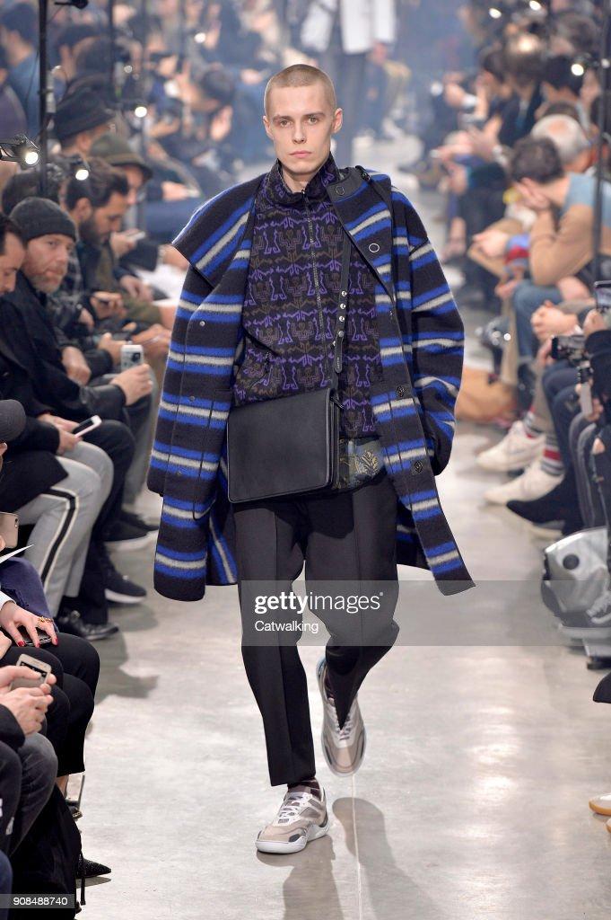 Lanvin - Mens Fall 2018 Runway - Paris Menswear Fashion Week