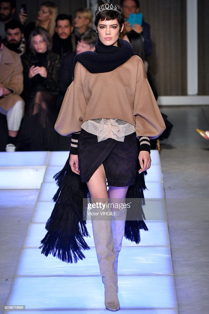 Les Copains - Runway - Milan Fashion Week Fall/Winter 2018/19 : ニュース写真