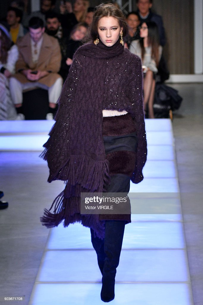 Les Copains - Runway - Milan Fashion Week Fall/Winter 2018/19 : News Photo