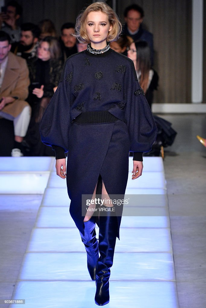 Les Copains - Runway - Milan Fashion Week Fall/Winter 2018/19 : News Photo