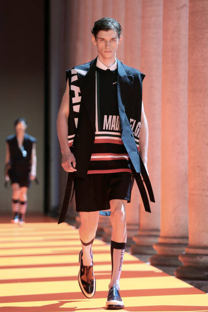 ITA: Les Hommes - Runway - Milan Men's Fashion Week Spring/Summer 2020