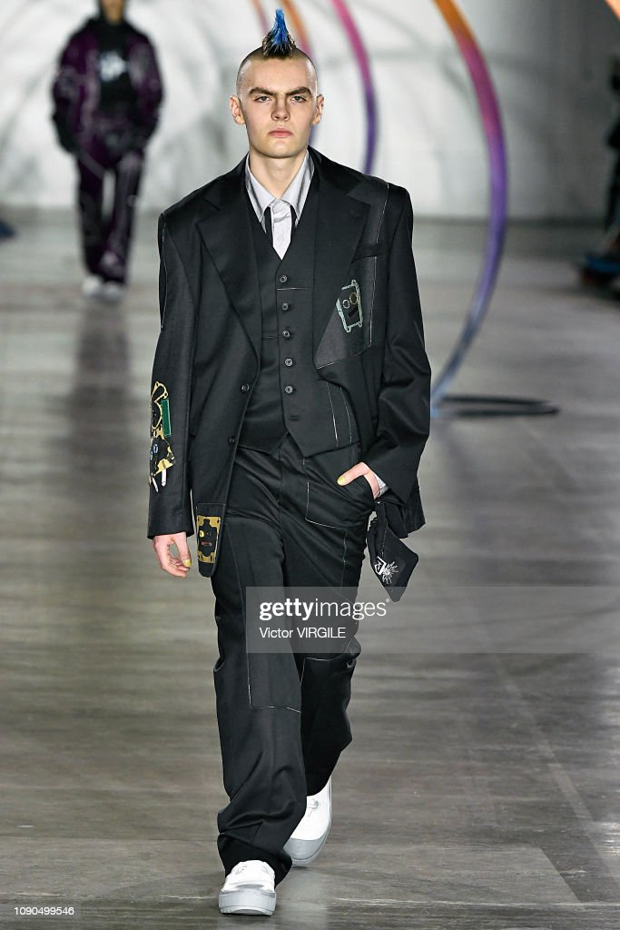 Liam Hodges - Runway - LFWM January 2019 : ニュース写真