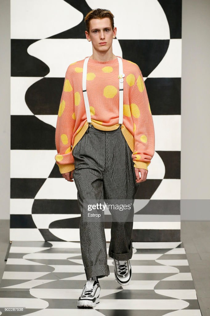 Liam Hodges - Runway - LFWM January 2018 : ニュース写真