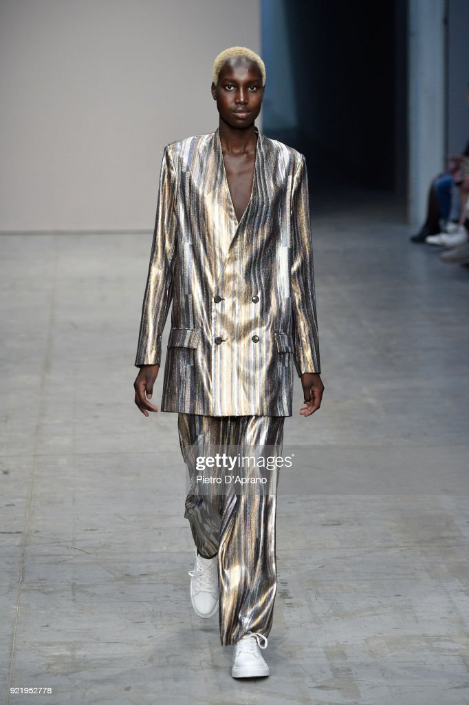 Lucio Vanotti - Runway - Milan Fashion Week Fall/Winter 2018/19 : News Photo