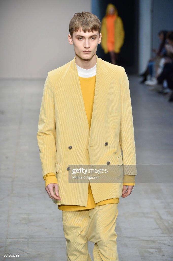 Lucio Vanotti - Runway - Milan Fashion Week Fall/Winter 2018/19 : News Photo