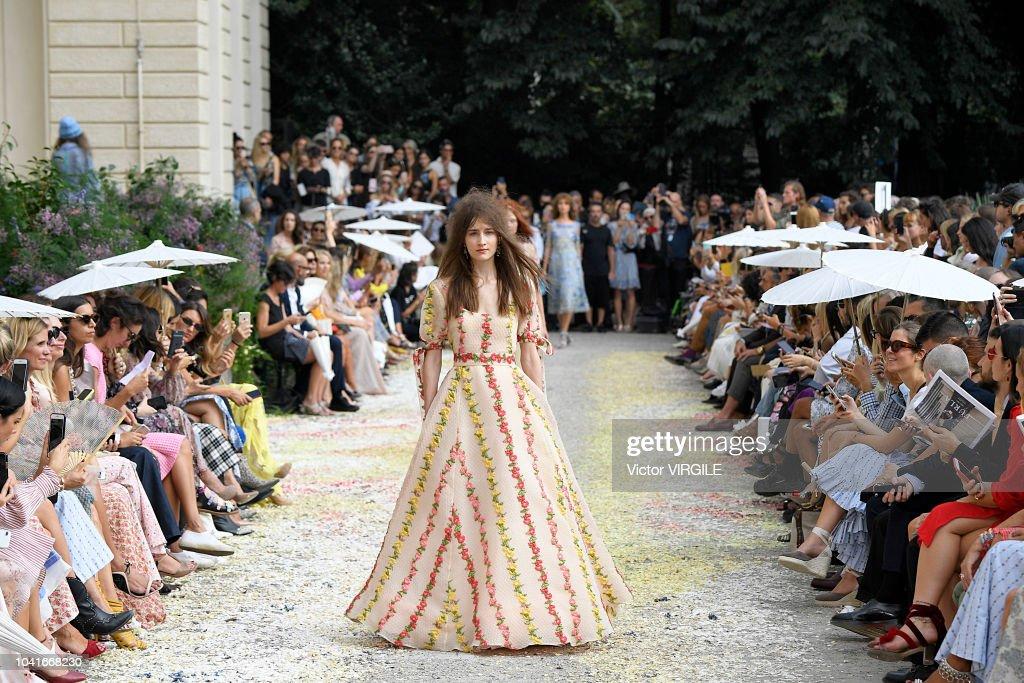 Luisa Beccaria - Runway - Milan Fashion Week Spring/Summer 2019 : News Photo