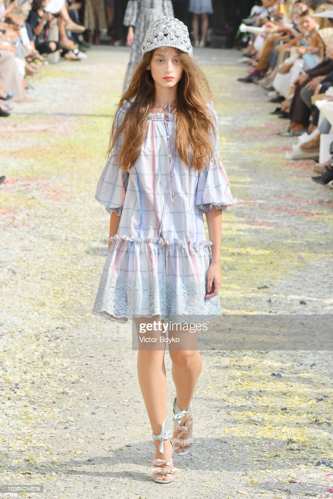 Luisa Beccaria - Runway - Milan Fashion Week Spring/Summer 2019