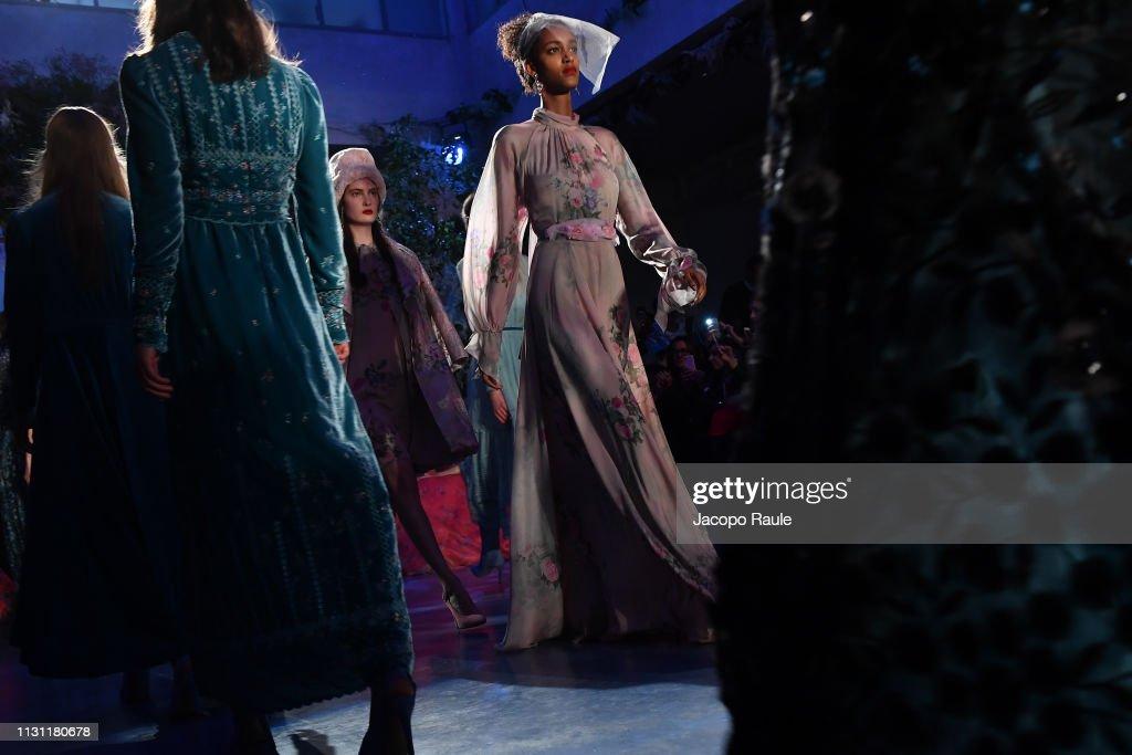 ITA: Luisa Beccaria - Runway: Milan Fashion Week Autumn/Winter 2019/20