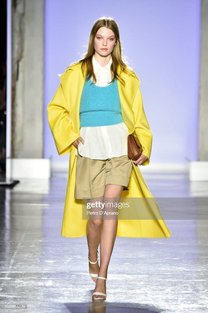 model-walks-the-runway-at-the-luisa-spagnoli-show-during-milan-week-picture-id1035615574