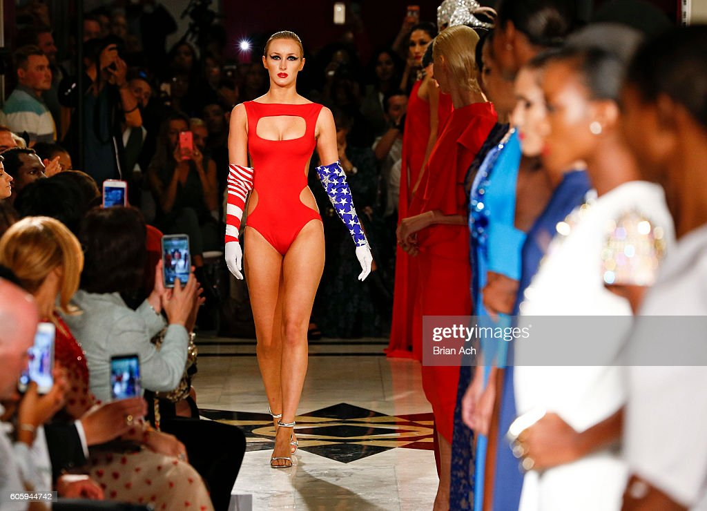 NY: Marc Bouwer - Runway - September 2016 - New York Fashion Week
