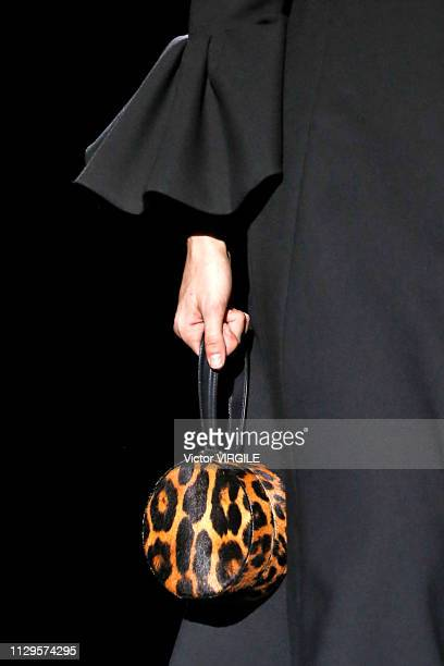 A model walks the runway at the Marc Jacobs Ready to Wear Fall/Winter 20192020 fashion show during New York Fashion Week on February 13 2019 in New...