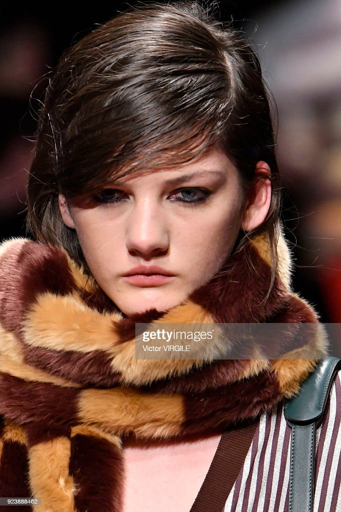 Marco De Vincenzo - Runway - Milan Fashion Week Fall/Winter 2018/19 : Nachrichtenfoto