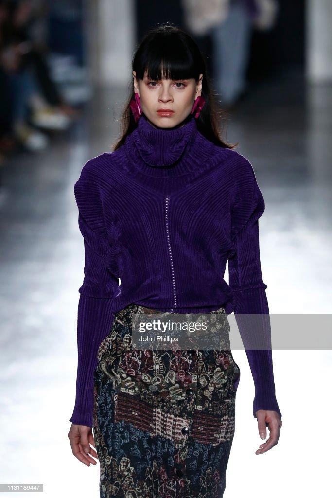 ITA: Marco Rambaldi Supported By CNMI e CNMI Fashion Trust - Runway: Milan Fashion Week Autumn/Winter 2019/20