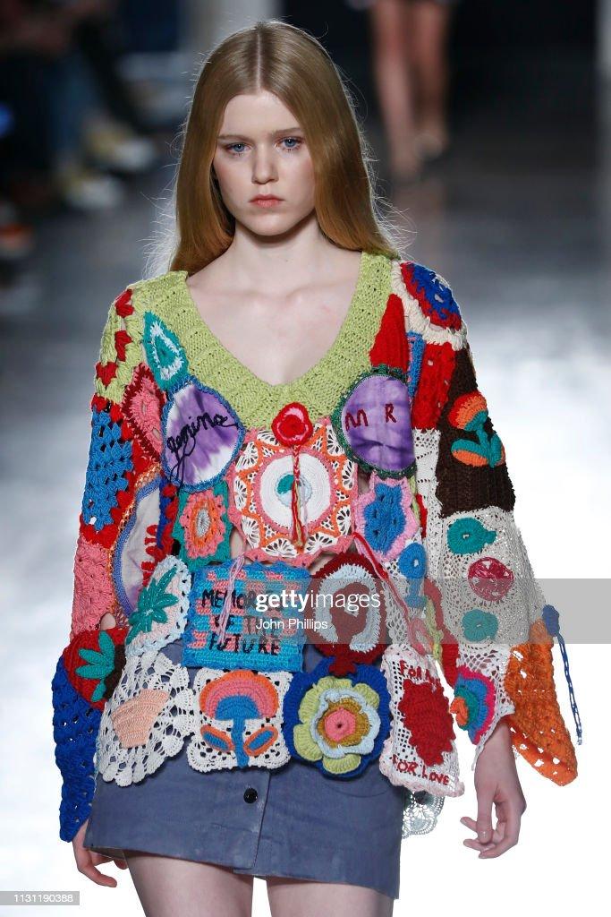 Marco Rambaldi Supported By CNMI e CNMI Fashion Trust - Runway: Milan Fashion Week Autumn/Winter 2019/20 : News Photo