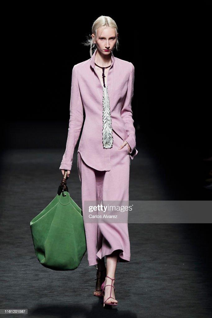 Marcos Luengo - Catwalk - Mercedes Benz Fashion Week Madrid Spring/Summer 2020 : Fotografía de noticias
