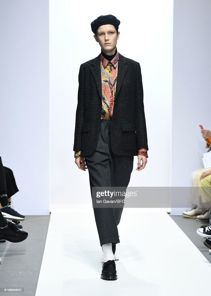 Margaret Howell - Runway - LFW February 2018