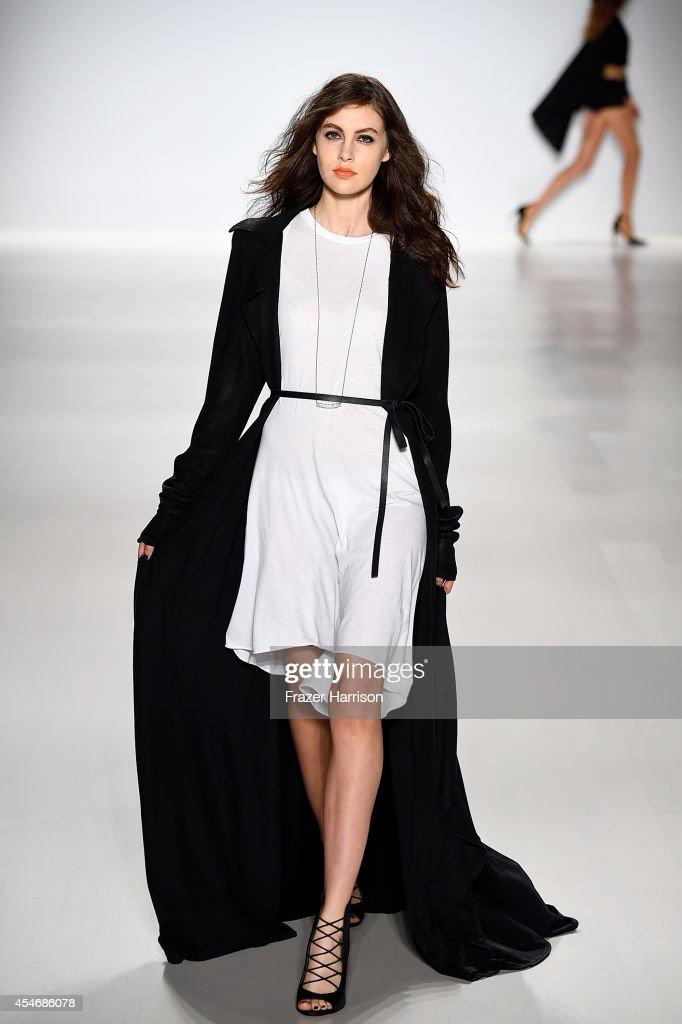 Mark And Estel - Runway - Mercedes-Benz Fashion Week Spring 2015 : News Photo