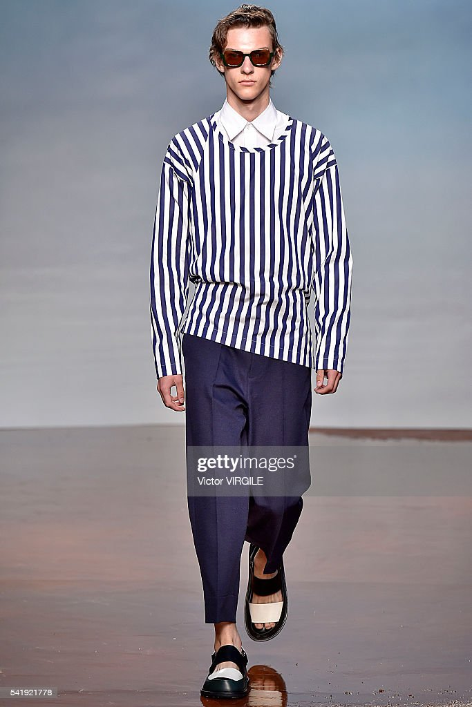 Marni - Runway - Milan Men's Fashion Week SS17 : News Photo