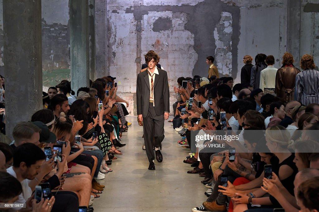 Marni - Runway - Milan Men's Fashion Week Spring/Summer 2018 : ニュース写真