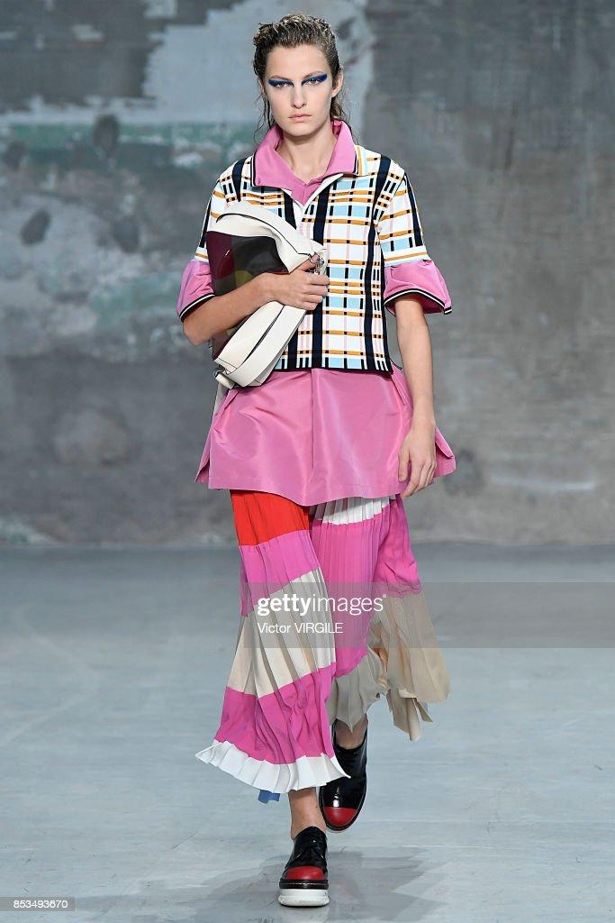 Marni - Runway - Milan Fashion Week Spring/Summer 2018 : Nachrichtenfoto