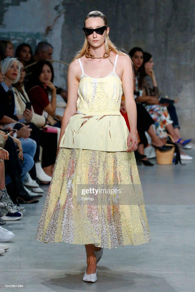 Marni - Runway - Milan Fashion Week Spring/Summer 2019 : ニュース写真