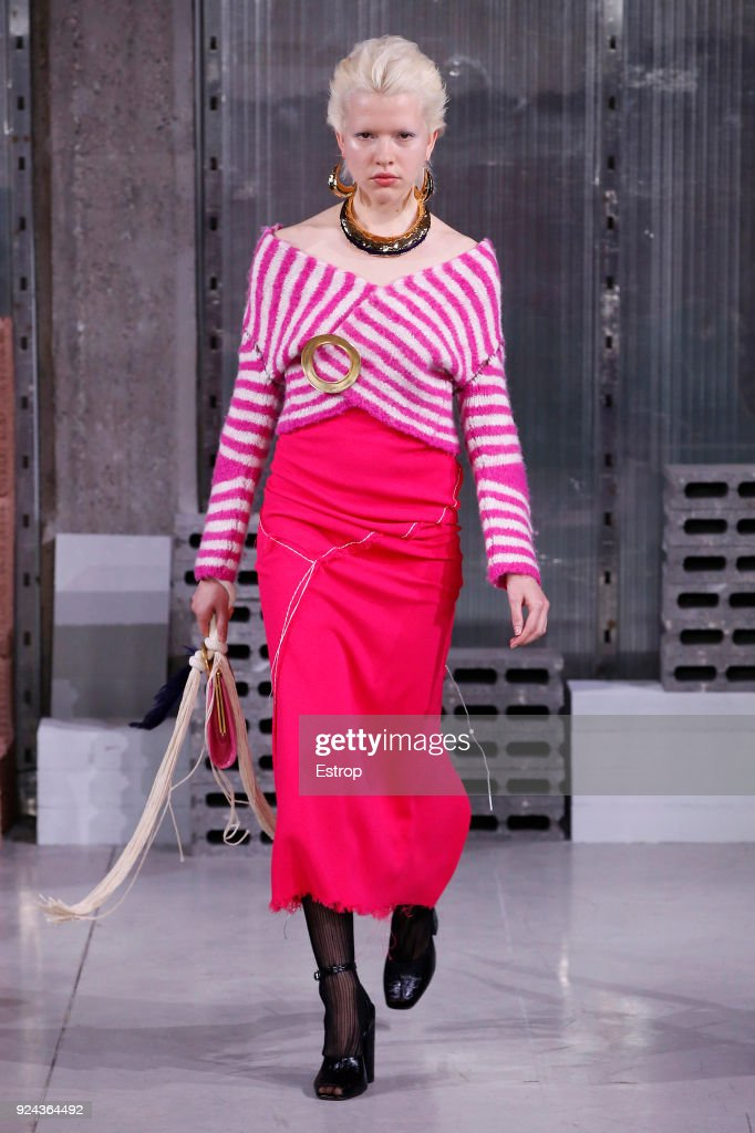 Marni - Runway - Milan Fashion Week Fall/Winter 2018/19 : ニュース写真