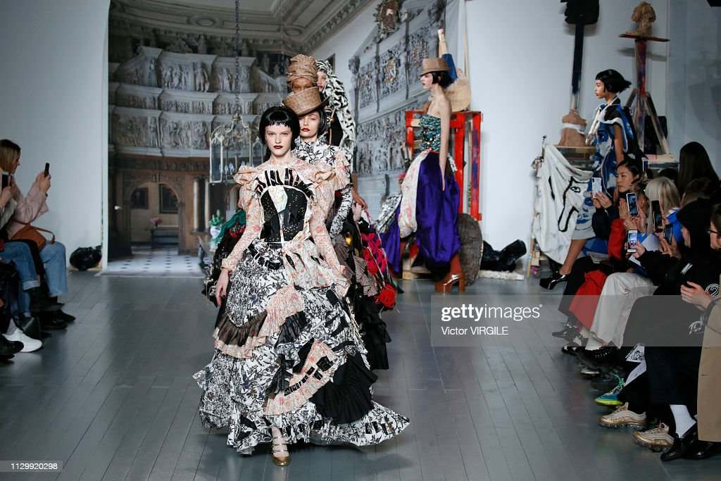 Matty Bovan - Runway - LFW February 2019 : ニュース写真