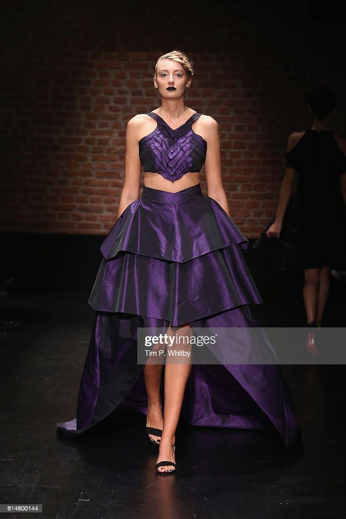 Mert Erkan - Runway - Mercedes-Benz Fashion Week Istanbul   - October 2016 : News Photo