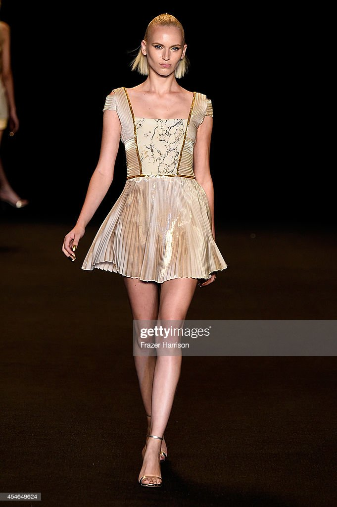Mercedes-Benz Fashion Week Spring 2015 - Official Coverage - Best Of Runway Day 1 : News Photo